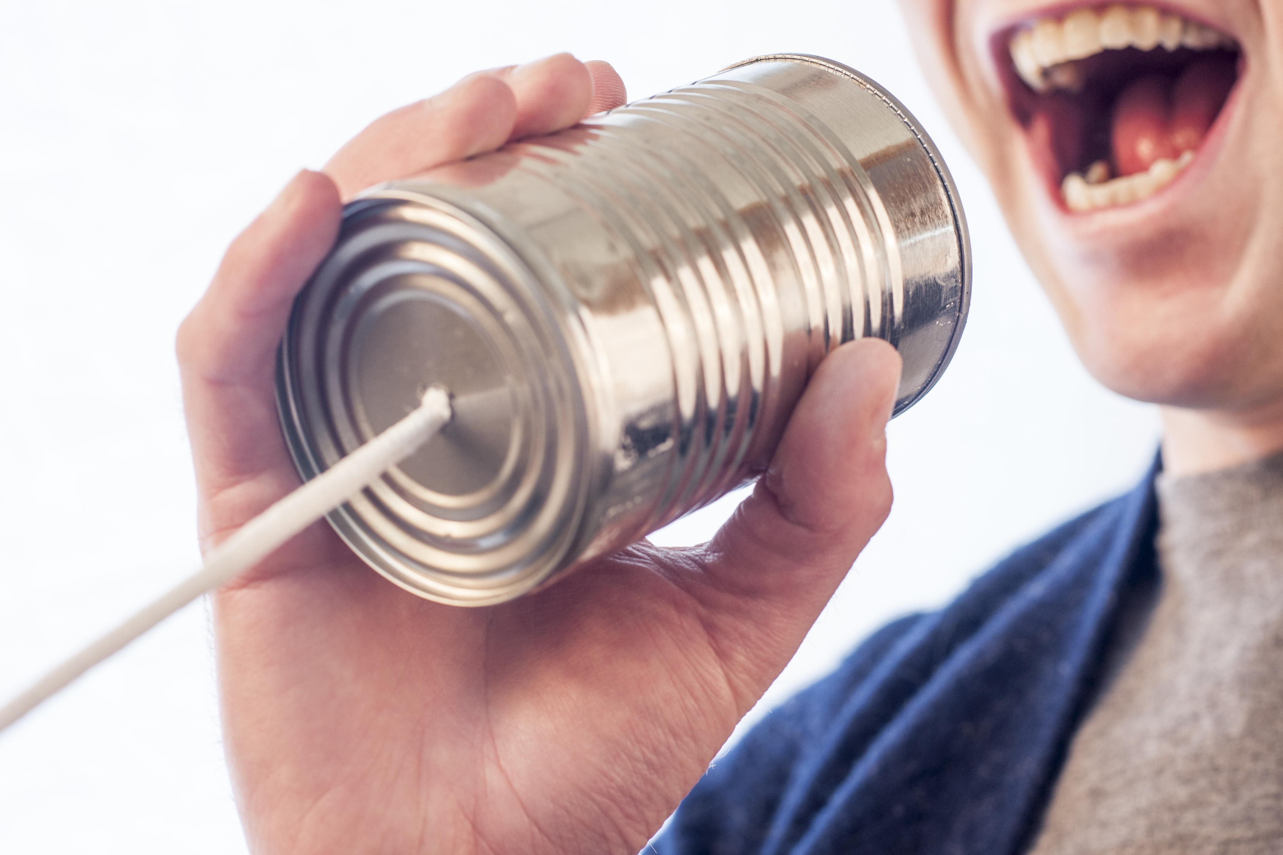 Wirkung der Stimme Rede, reden, eine rede halten, Geburtstagsrede, sprechen, stimmpuls, Speaker