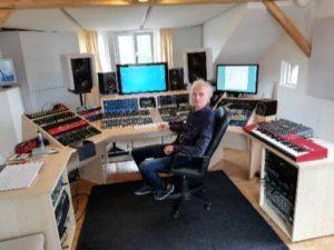 Regieraum im Tonstudio