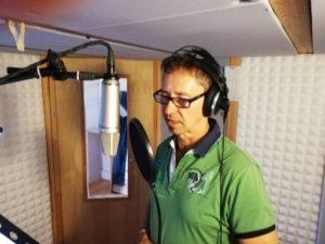 Sprachaufnahme im Tonstudio