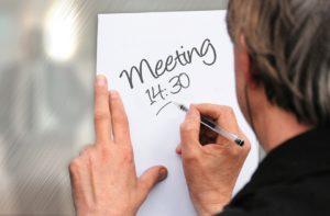 Effektivität im Meeting